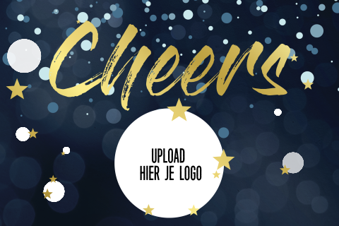 Folie - logo Cheers goud